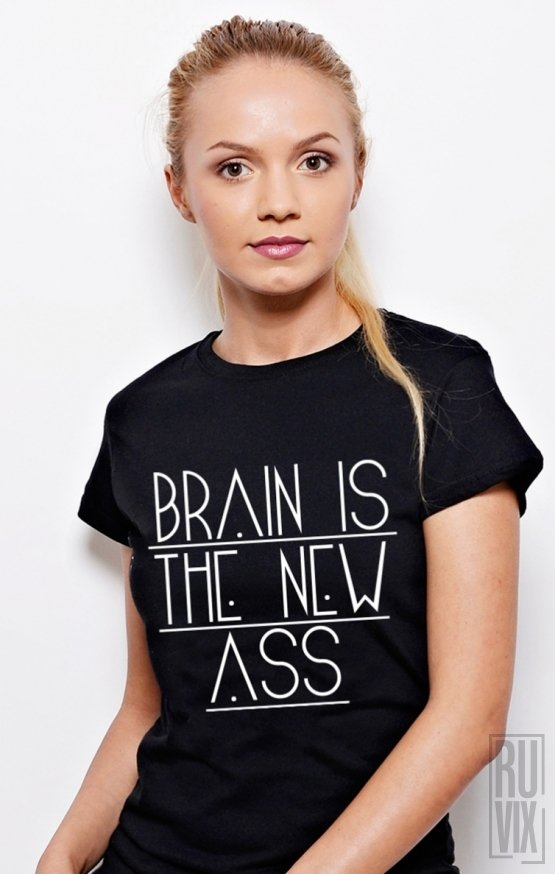 Tricou Brain is the New ASS