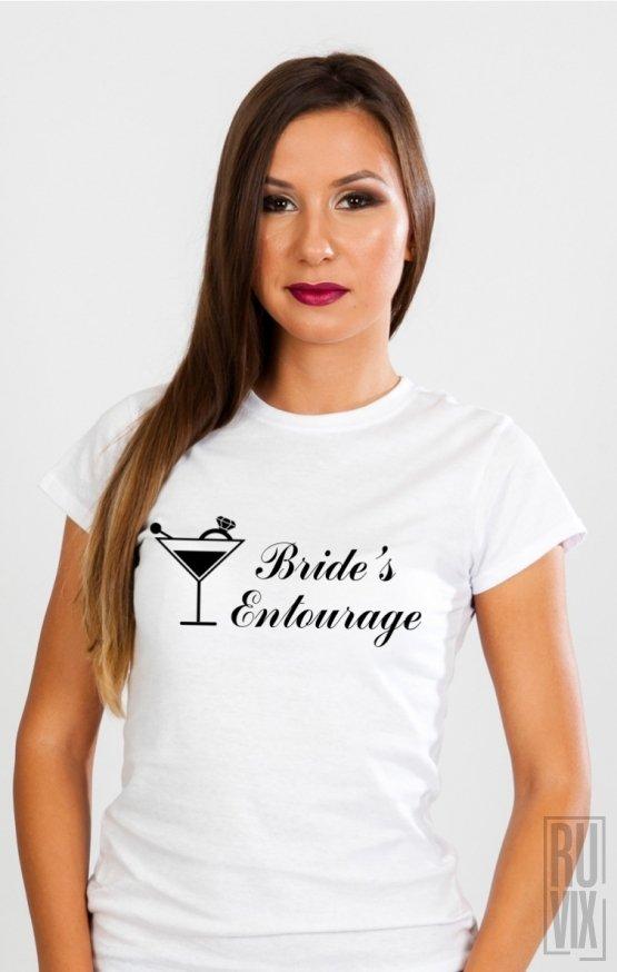 Tricou Bride's Entourage