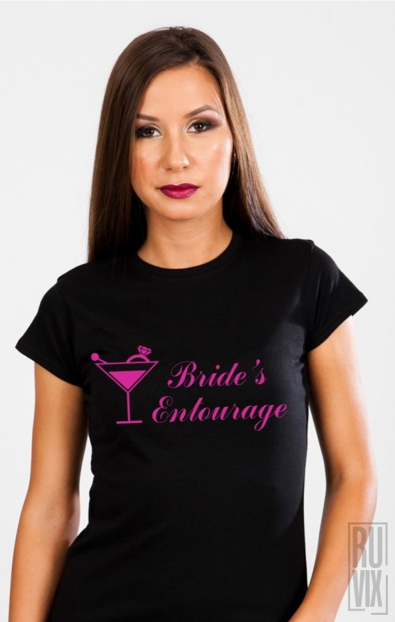 Tricou Bride's Entourage