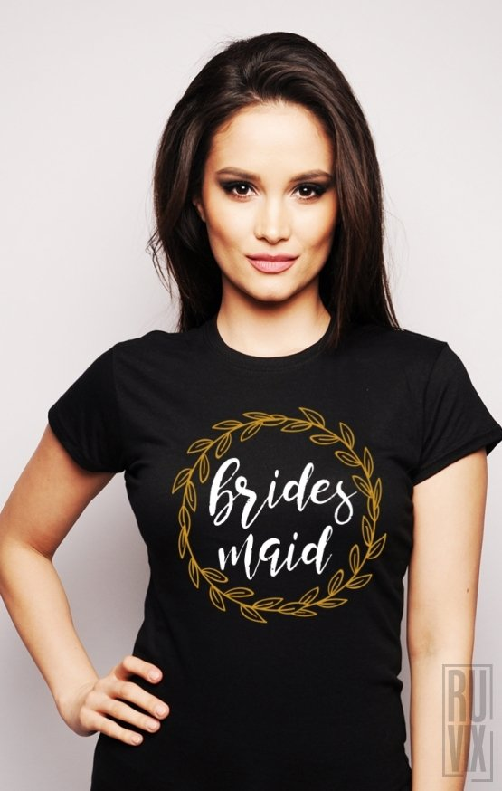 Tricou Bridesmaid (Coroniță)