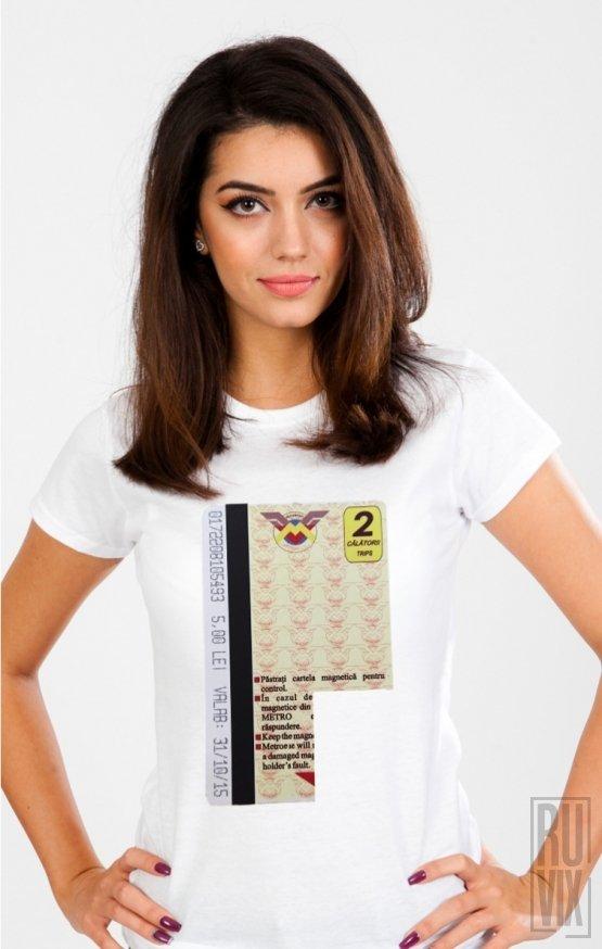 Tricou Cartelă cu Filtru