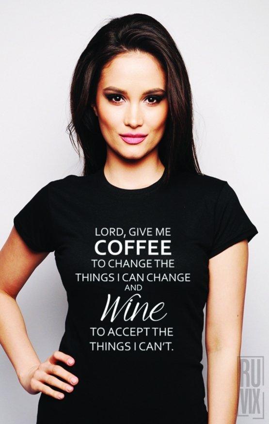 Tricou Coffee and Wine