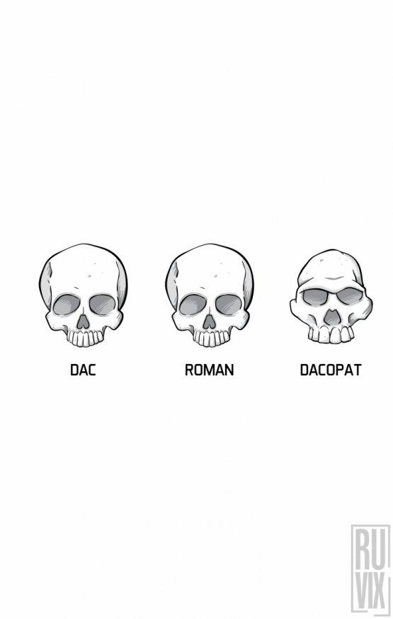 Tricou Cranii Dacopat