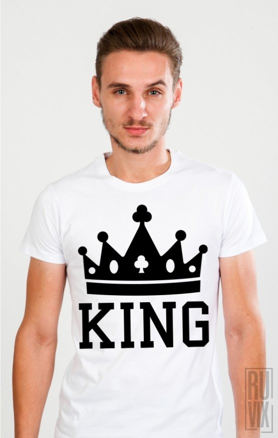 Tricou Crown KING