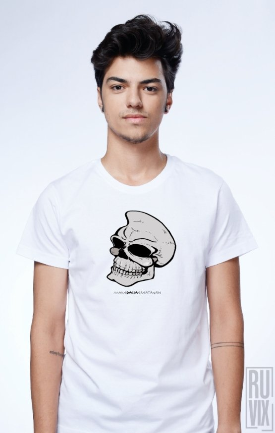 Tricou Dac Skull