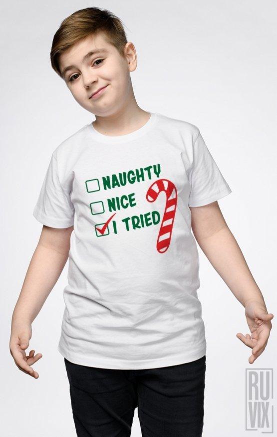 Tricou de Copii I Tried