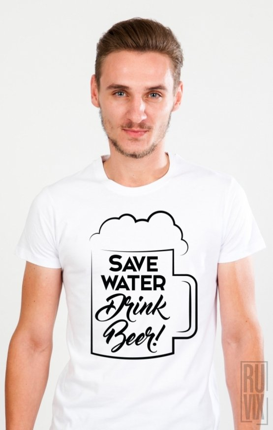 Tricou Drink Beer
