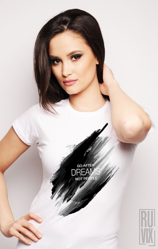 Tricou Go After Dreams