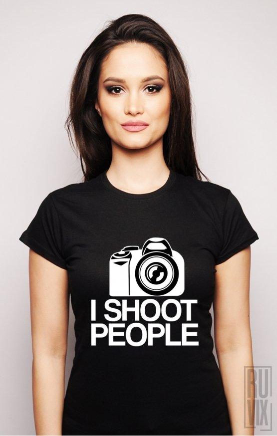 Tricou I Shoot People