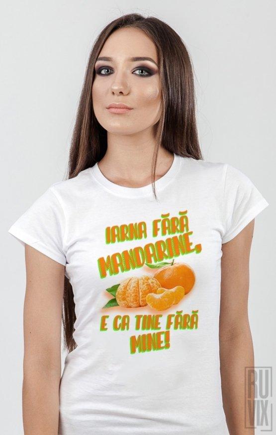 Tricou Iarna Fără Mandarine