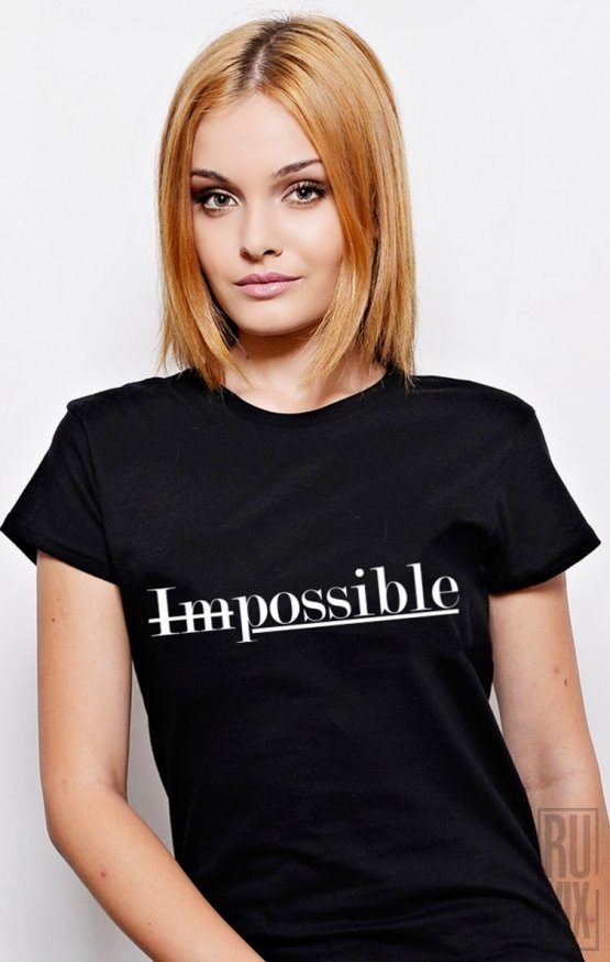 Tricou Impossible