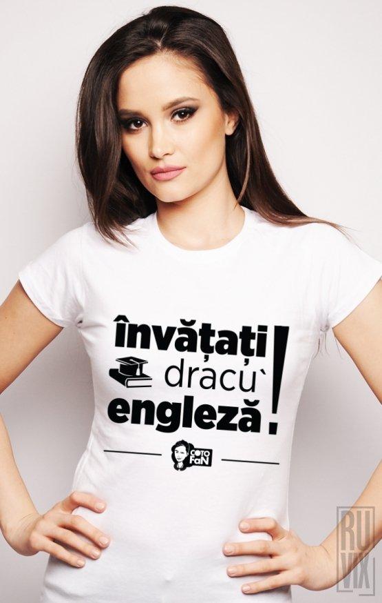 Tricou Învățați Engleză