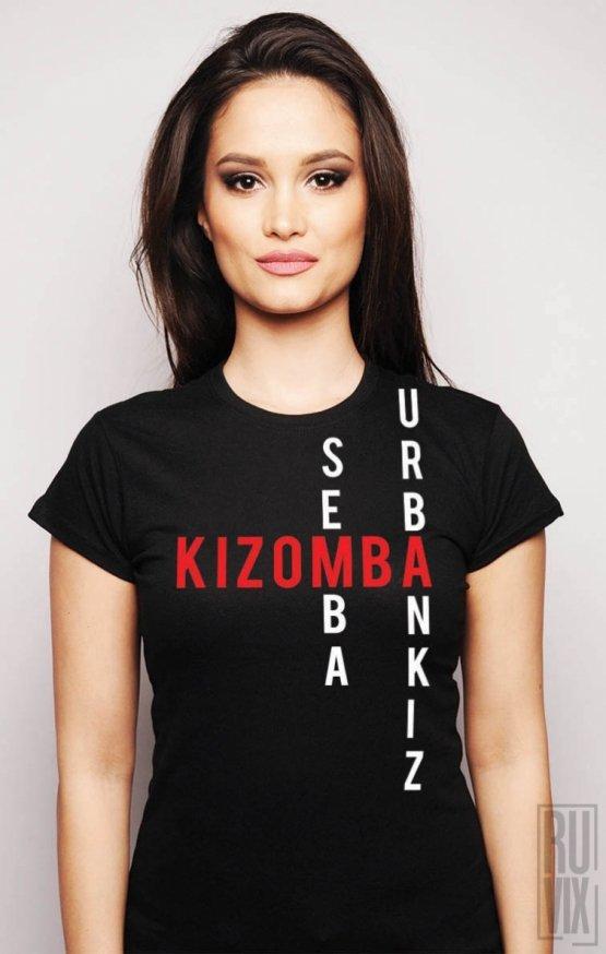 Tricou Kizomba Scrabble