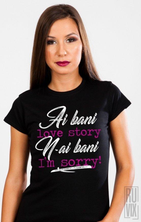Tricou Love Story