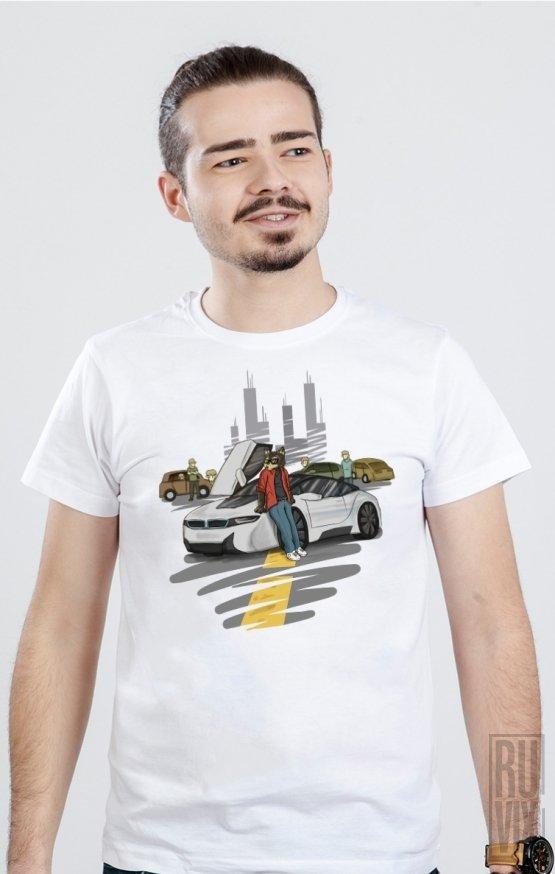 Tricou Lupul Între Oi - Mașini