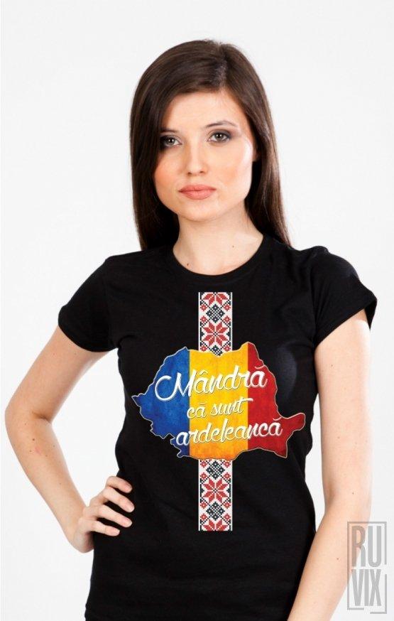 Tricou Mândră Că Sunt Ardeleancă