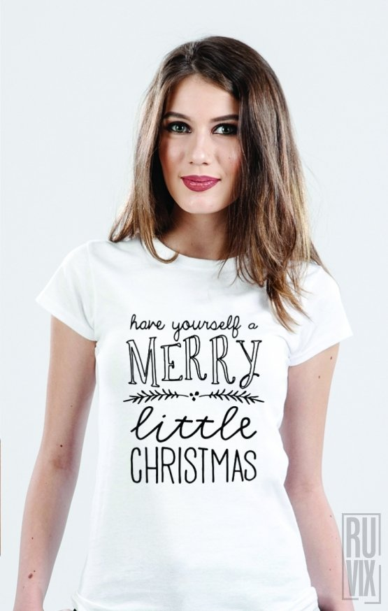 Tricou Merry Little Christmas