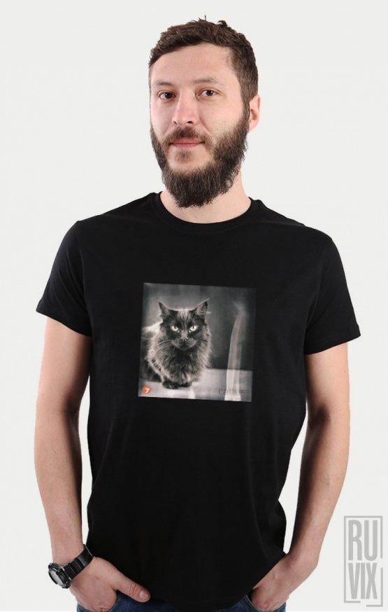 Tricou Negru Cat 6A