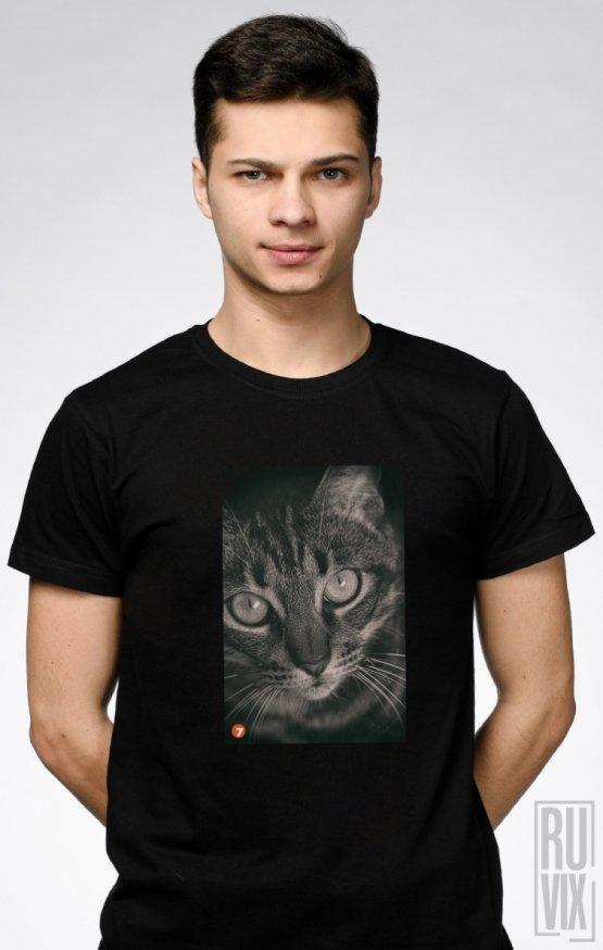 Tricou Negru Cat 7A