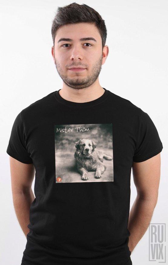 Tricou Negru Dog 3A