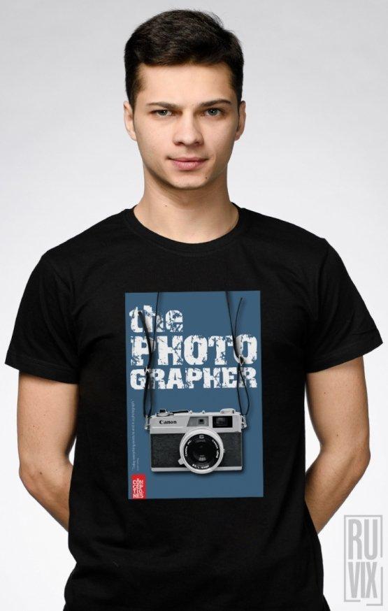 Tricou Negru The Photographer 3