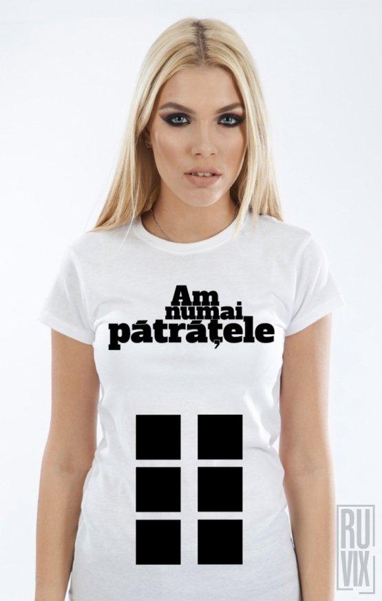 Tricou Pătrățele