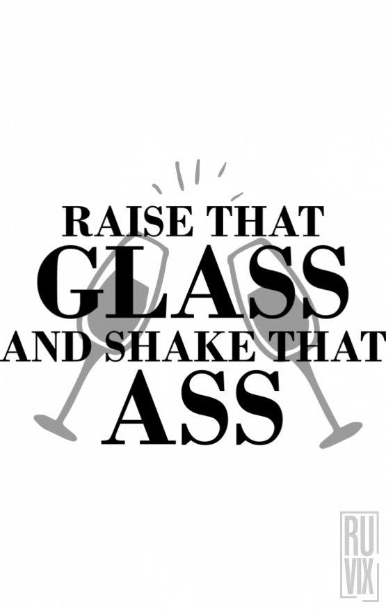Tricou Raise That Glass