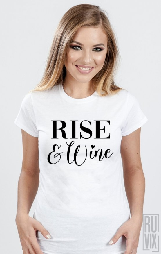 Tricou Rise Wine