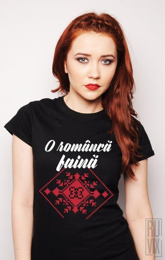 Tricou Româncă Faină