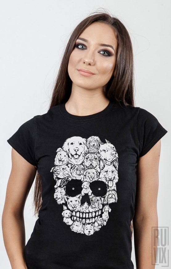 Tricou Skull Dog