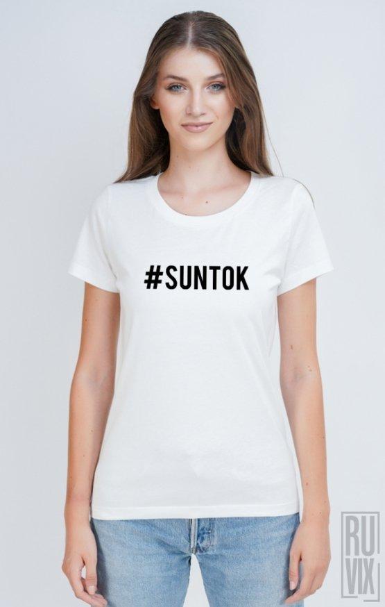 Tricou #SUNTOK BACK
