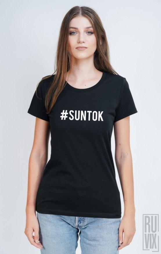 Tricou #SUNTOK FRONT