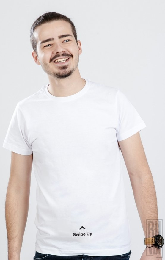 Tricou Swipe Up