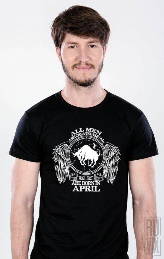 Tricou Taur - Zodiac Aprilie Bărbați