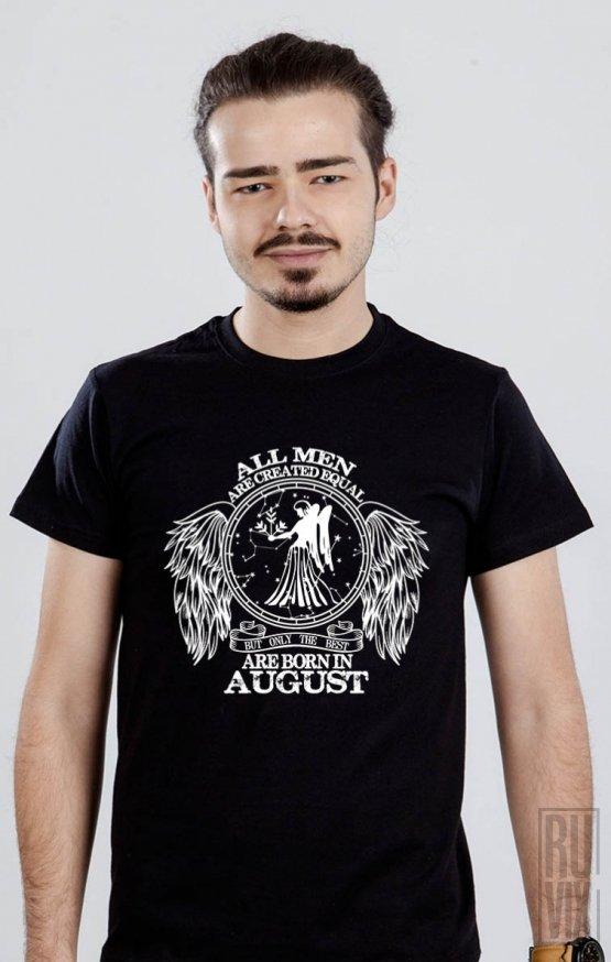 Tricou Fecioară - Zodiac August Bărbați