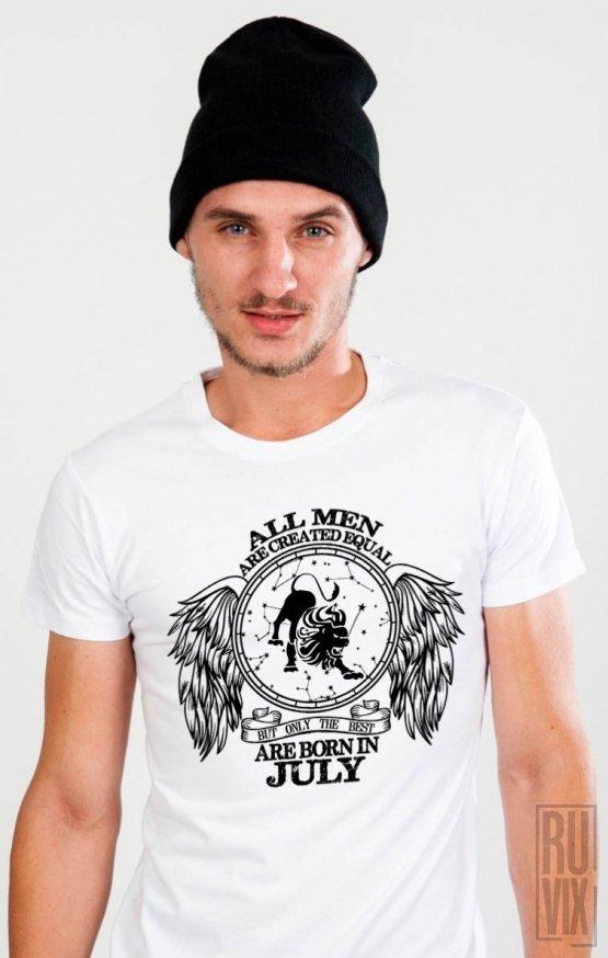 Tricou Leu - Zodiac Iulie Bărbați