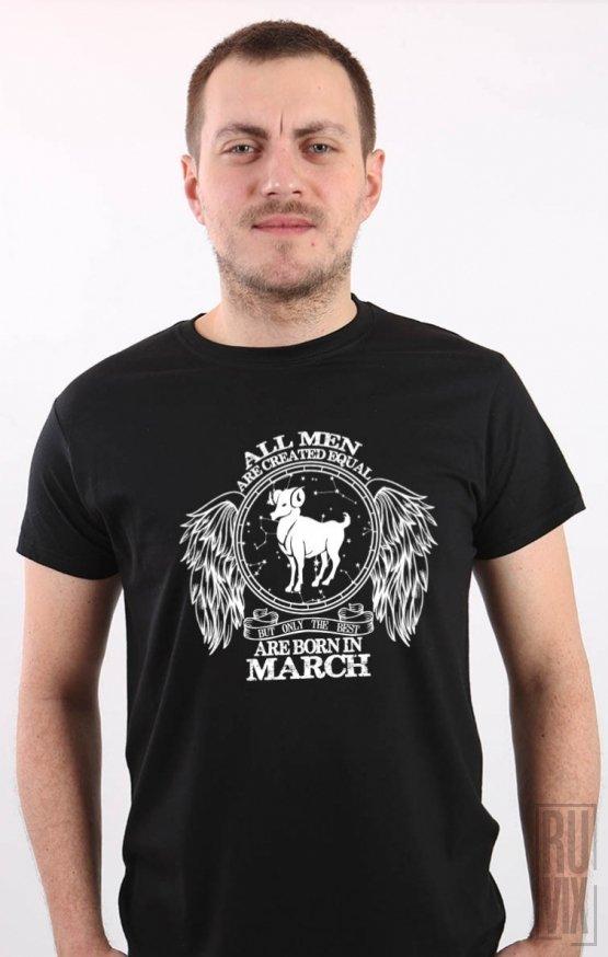 Tricou Berbec - Zodiac Martie Bărbați