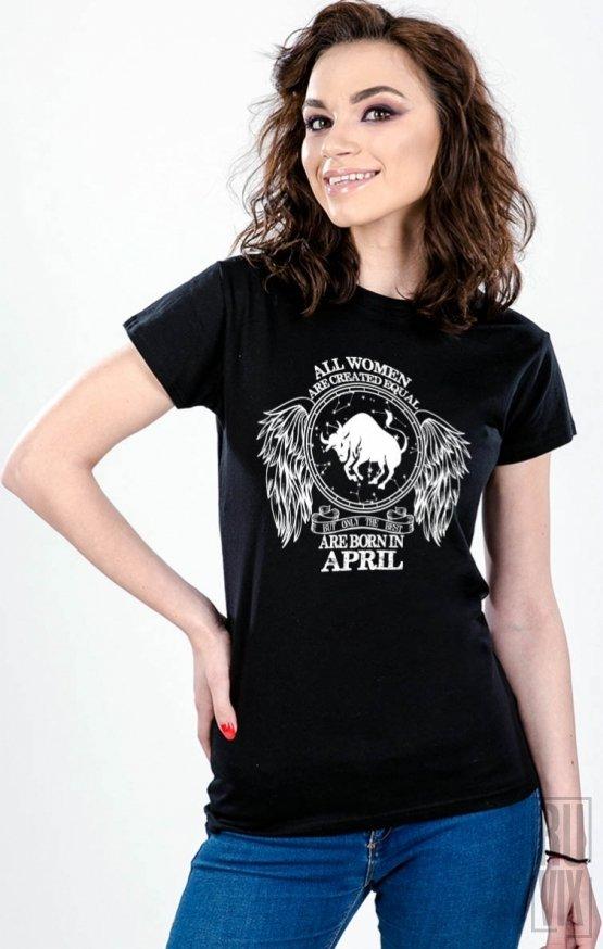 Tricou Taur - Zodiac Aprilie Damă