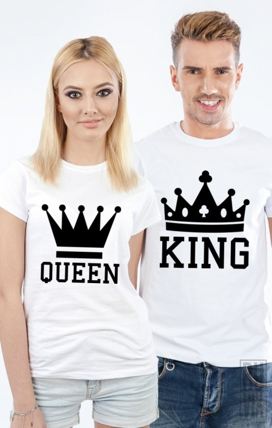 Tricouri de Cuplu King și Queen