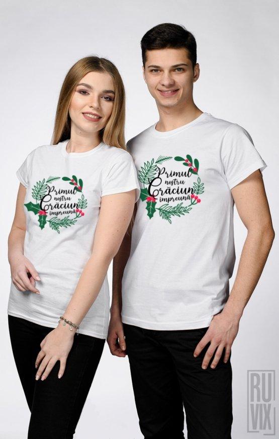 Tricouri de Cuplu Primul nostru Crăciun Împreună
