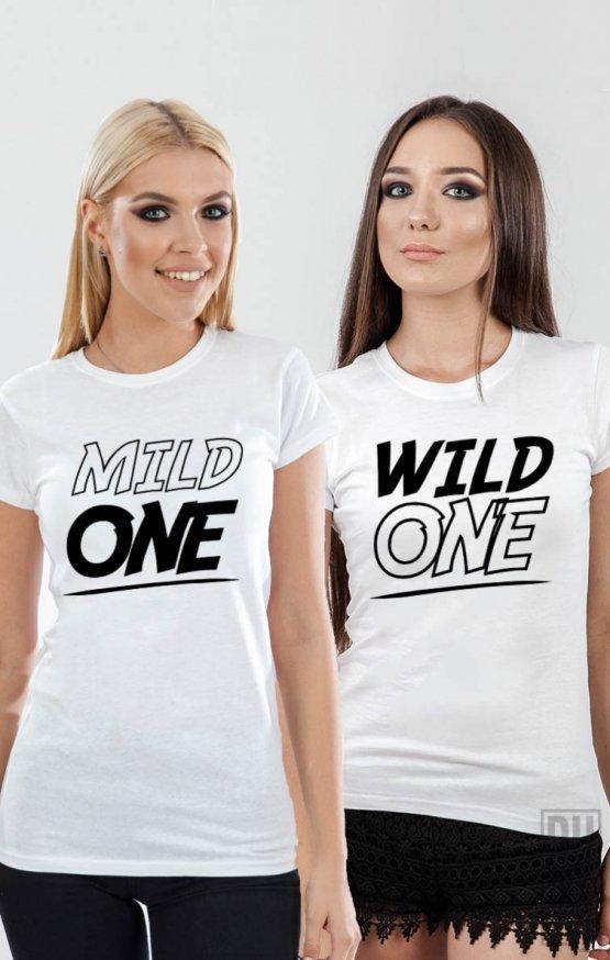 Tricouri Wild and Mild