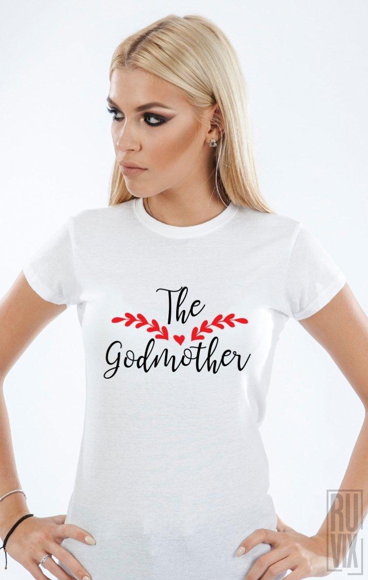 PROMOȚIE Tricou The Godmother (cu frunze)