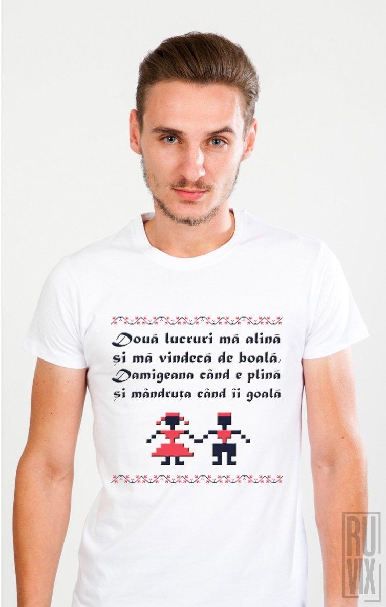 PROMOȚIE Tricou Damigeana și Mândruța