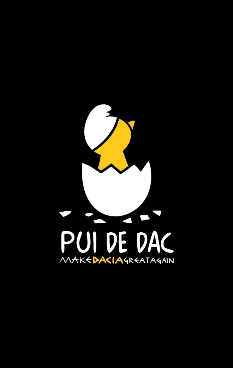 PROMOȚIE Tricou Pui de Dac Negru