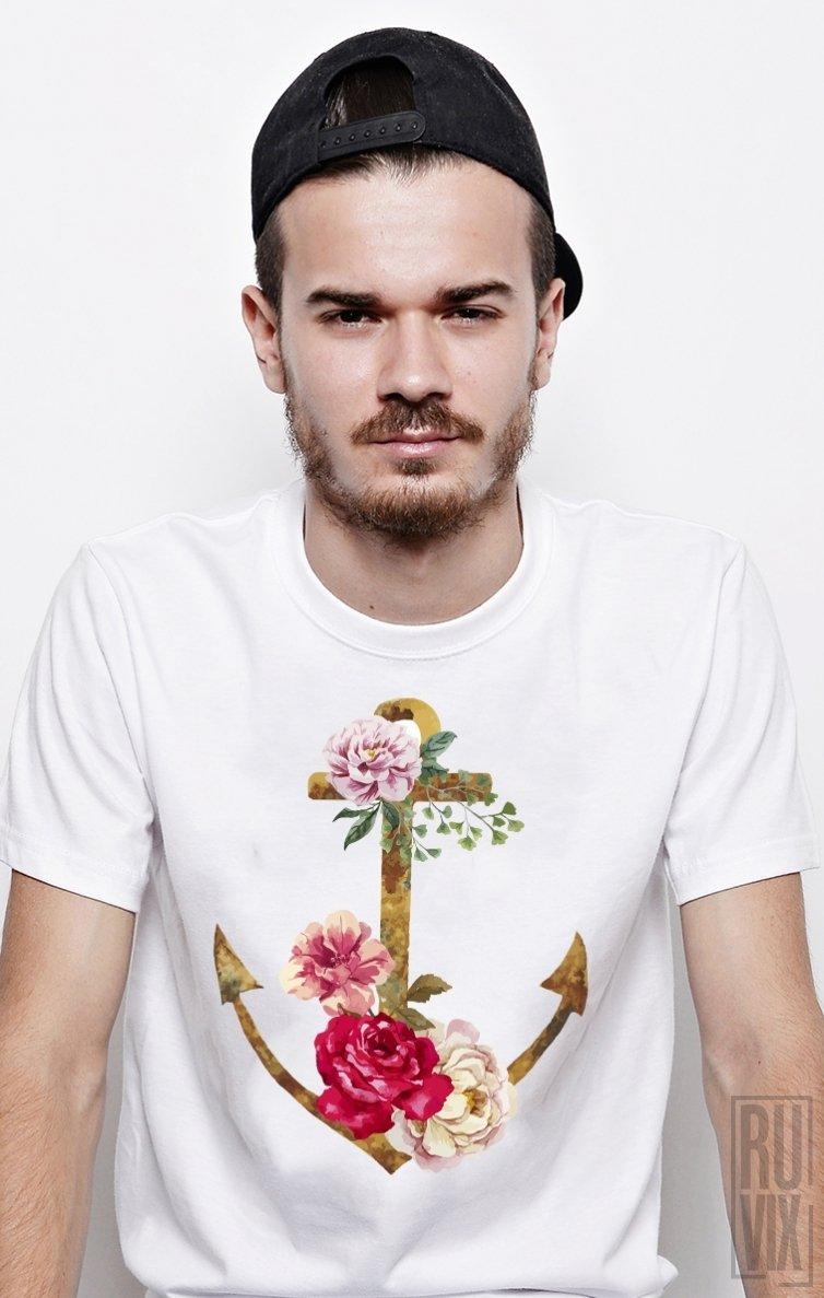 PROMOȚIE Tricou Ancoră Florală