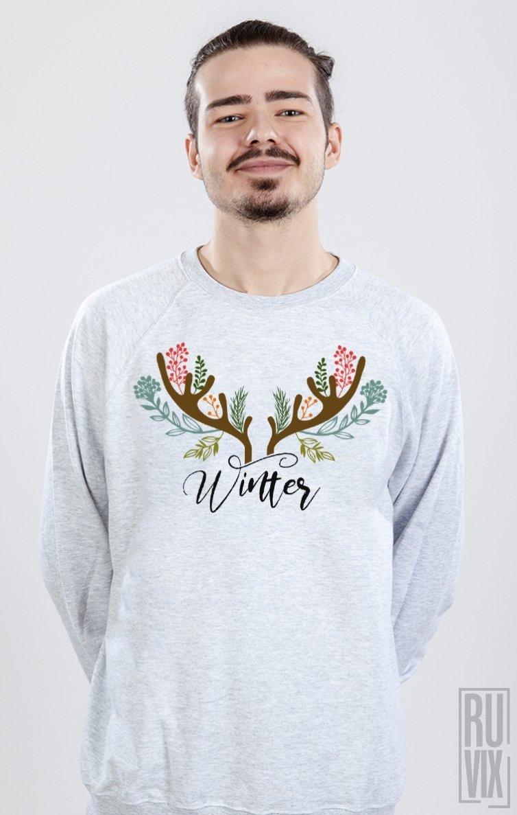 PROMOȚIE Sweatshirt Winter Horns