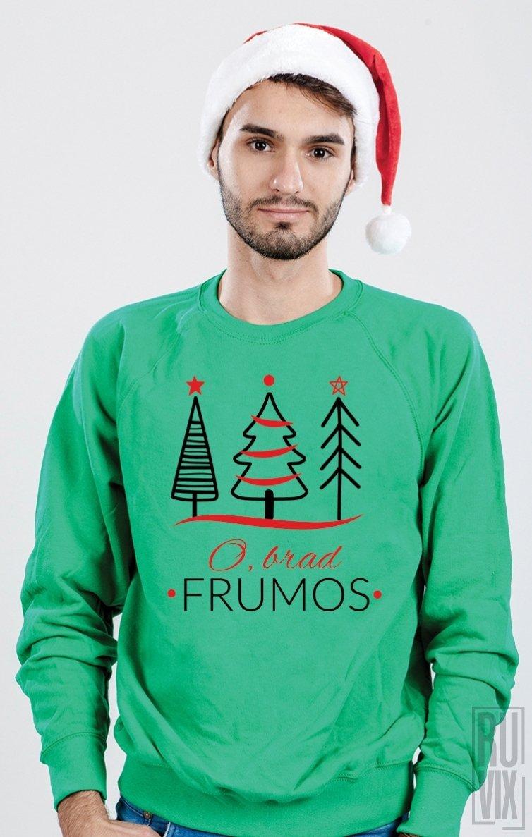 PROMOȚIE Sweatshirt O Brad Frumos