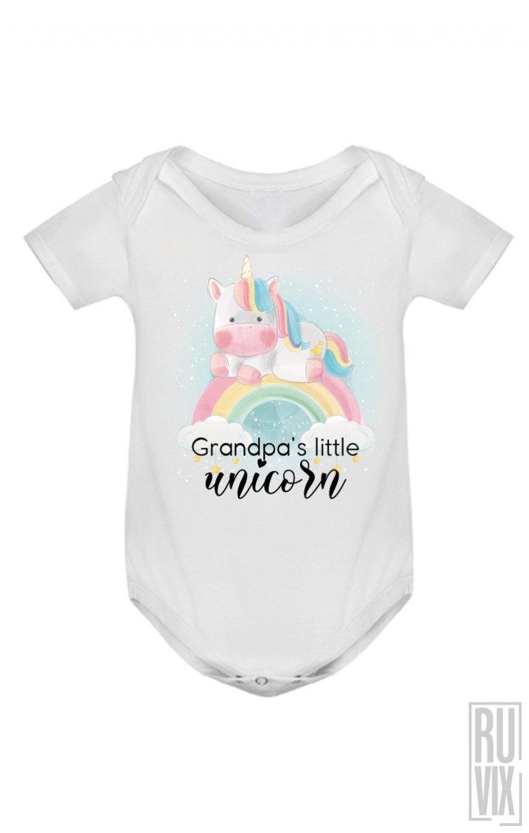 Body Grandpa's Little Unicorn