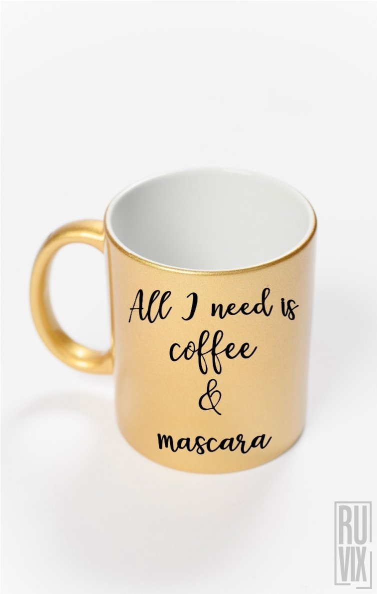 Cană Coffee & Mascara