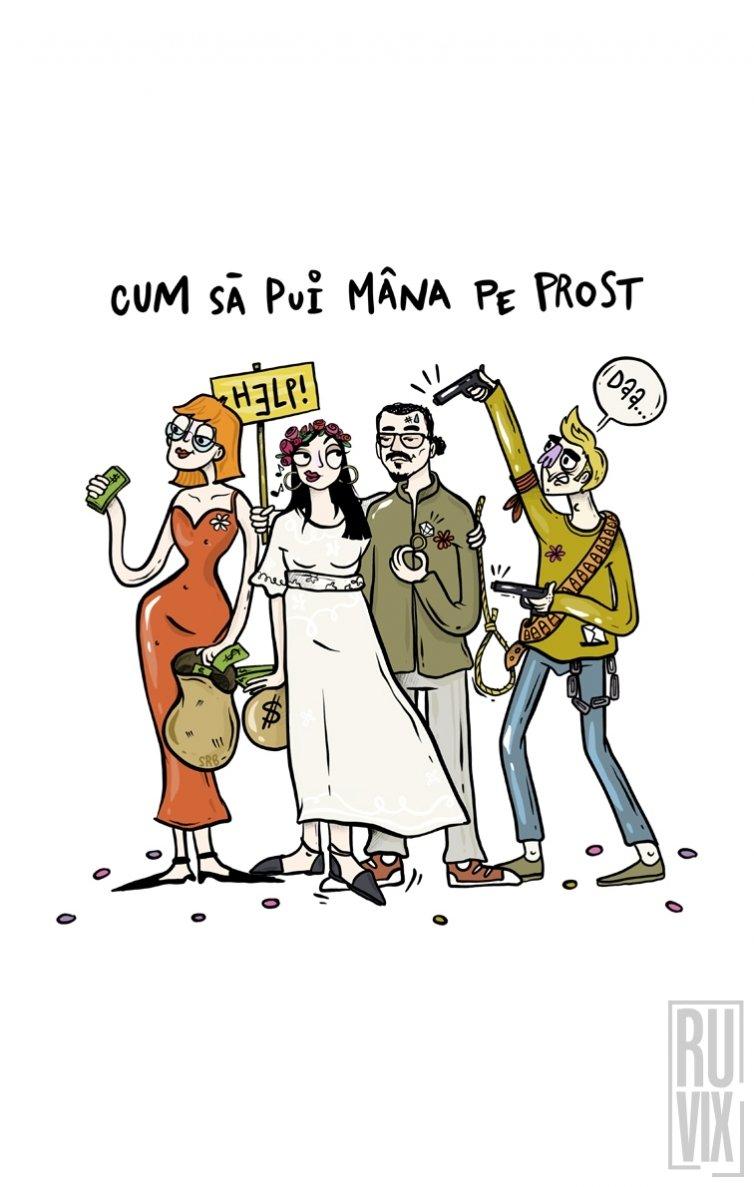 Geantă Mâna pe Prost